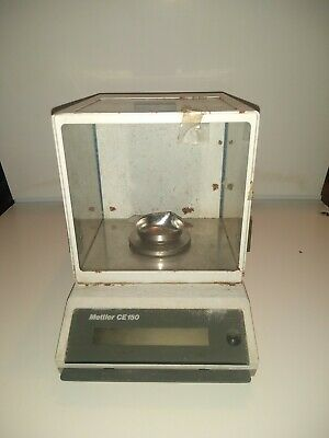 Mettler Ce150 Electronic  Diamond Scale Tested & Works
