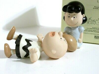 Snoopy Peanuts Charlie Brown Lenox Fine Ivory China Figure Figurine Set 2012