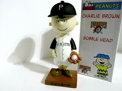 Snoopy Peanuts Charlie Brown Pittsburgh Pirates Bobblehead Figure Figurine 2003