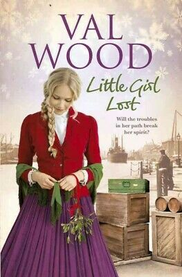Little Girl Lost, Paperback by Wood, Val, Like New Used, Free P&P in the UK