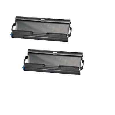 2PK Compatible PC-501 Fax Ttr Cartridge for Brother Fax 575 Black