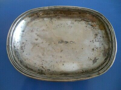 Pirates Galleons Shipwreck Very rare end 17th century Spanish silver tray plate