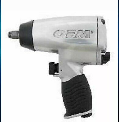 """OEM 1/2"""" Drive Pro Air Impact Wrench ((#25820)- 380 ft/lbs"""
