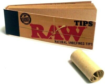 Raw authentic filter tips roach card booklets x 10. FREE UK SHIPPING