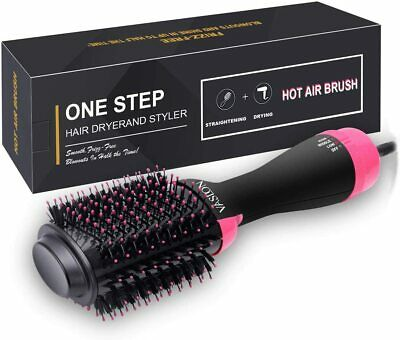Hot Air Brush 4-in-1 One-Step Hair Dryer and Volumizer Negative Ion Hair