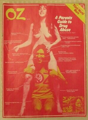 OZ Magazine No. 34 (Red Copy) A Parents Guide to Drug Abuse, Good condition