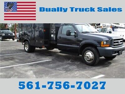 1999 Ford F550 Utility, Welder, Service ,Truck 7.3 Diesel Engine,Government Owne
