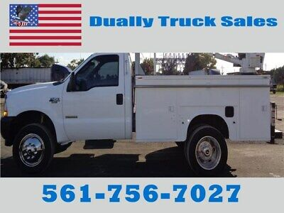 2003 Ford F450 CRANE TRUCK, GOVERNMENT OWNED