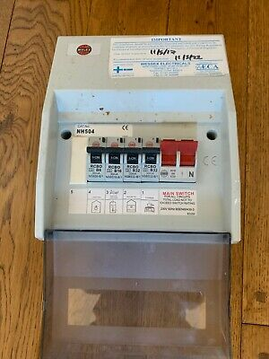 WYLEX Plastic Consumer Unit With RCBO's