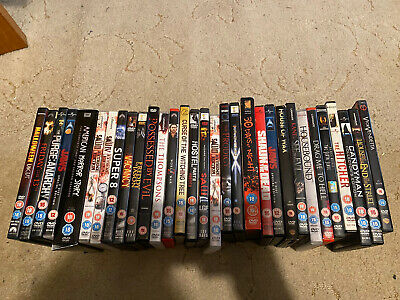 Horror Dvd Joblot