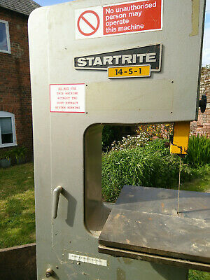 Startrite 14-S-1 3 Phase Band Saw