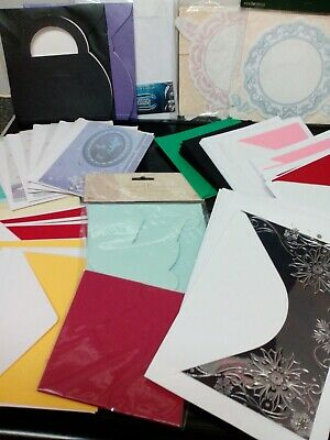 Craft Clear Out Job Lot 72 X Blank Cards & Envelopes Card Making
