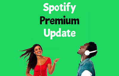 Spotify Premium Update | EXISTING or NEW Account | 12 Months Warranty| Worldwide
