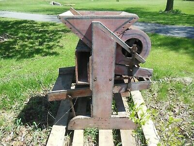 Seed Cleaner / Grain Cleaner  Machine - Fanning Mill Style