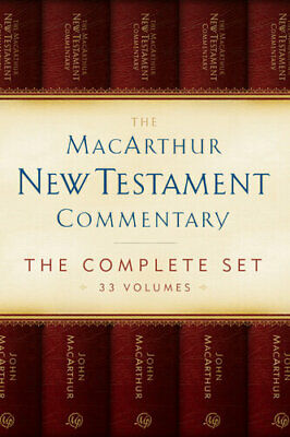 The MacArthur New Testament Commentary; The Complete Set, 33 Volumes |P.D.F|