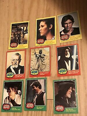 1970's  Star Wars 97 Card Trader collection