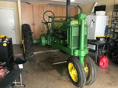 1936 John Deere A Unstyled Antique Tractor