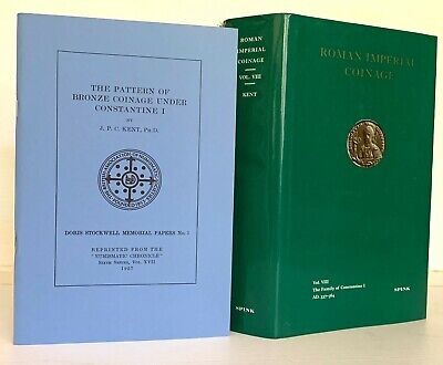 Roman Imperial Coinage 8. The Family of Constantine. 2nd & Best Edition