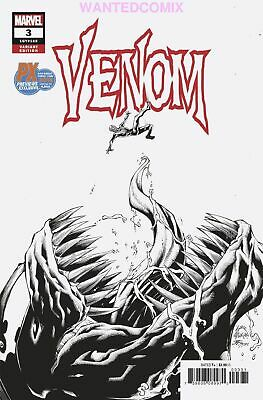 Sdcc 2018 Venom #3 Variant Cover San Diego Comic Con Knull Donny Cates New 1 Nm