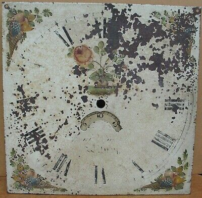 Grandfather / Longcase clock dial