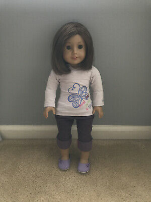 american girl truly me doll/comes with the clothes she's wearing in the picture