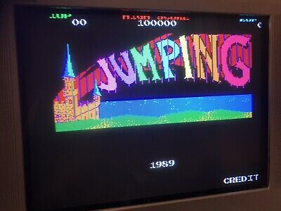 Jumping , Jamma Pcb, Working ( Video )