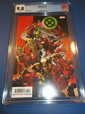 House of X #4 1st Print A Cover CGC 9.8 NM/M Gorgeous Gem Hot Title X-men Wow