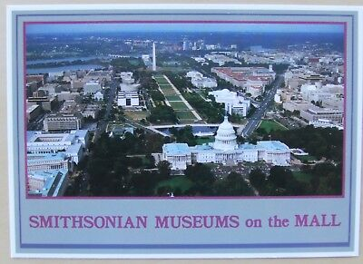 Smithsonian Museums on the Mall Washington postcard