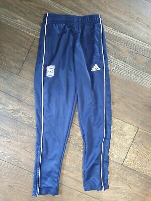Ipswich town Football Jogging Bottoms Ages 9-10