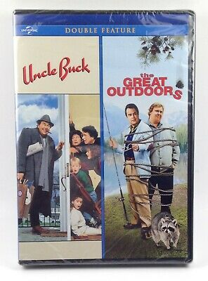 The Great Outdoors/Uncle Buck (DVD) New/Sealed Free Shipping