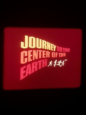 16mm Film Journey To The Centre Of The Earth Cartoon