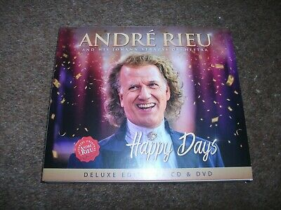 andre rieu happy days deluxe cd and dvd excellent condition