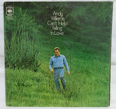 ANDY WILLIAMS - Can't Help Falling In Love .. 1970 Uk CBS LP