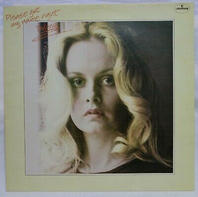 TWIGGY - Please Get My Name Right .. 1977 Uk Mercury Lp with Poster