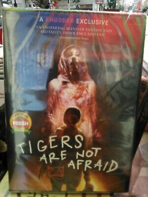 Tigers Are Not Afraid (DVD, 2020) NEW*  Horror, Thriller, Fantasy