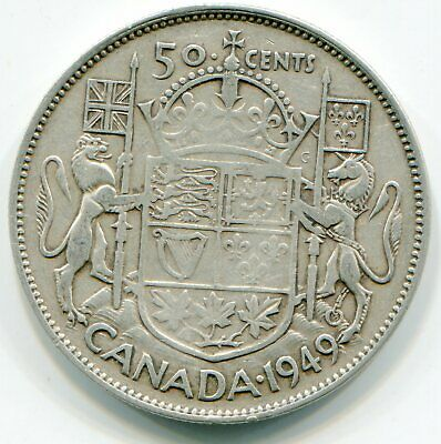 Canada 50 Cents 1949  lotmay6154