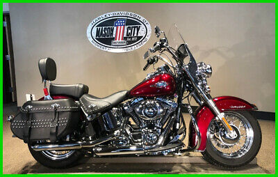 2014 Harley-Davidson Softail Heritage Softail® Classic 2014 Harley-Davidson FLSTC Heritage Softail Classic Mysterious Red Sunglo