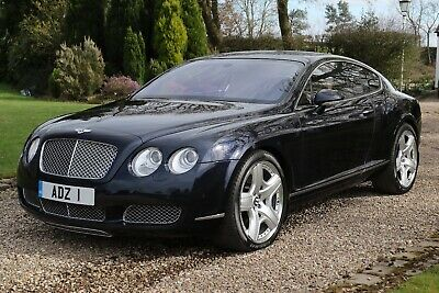 2005 Bentley GT W12 Coupe - Metallic Blue - Desirable Portland / Navy Interior