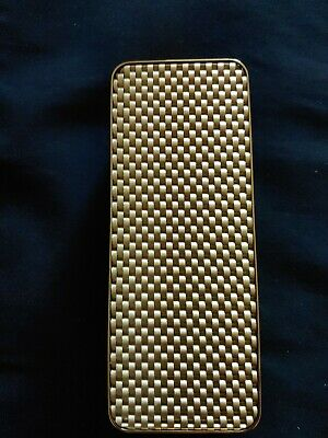 Cartier Jewelry Gold tone, Woven Display Fixture with Beige back
