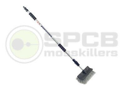 Water Fed Waterflow Window Cleaning Brush with Telescopic Handle up to 2.13m