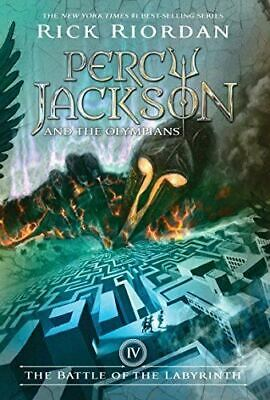 Percy Jackson and the Olympians, Book Four The Battle of the Labyrinth [Hardcove
