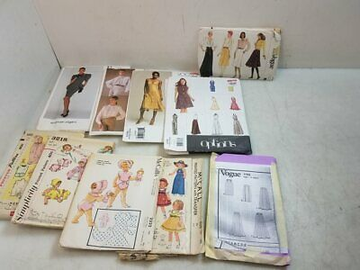 Vintage Outfit Patterns Vogue & McCall