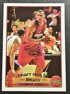 2003-04 Topps Collection Gold #221 Lebron James Rookie Reprint