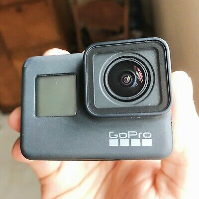 GoPro Hero7 Black 4K 12MP w/ Housing, Flexible Clamp and 128GB SD Card