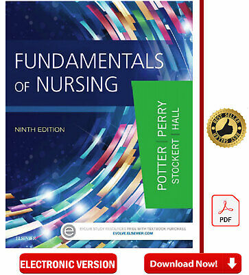 Fundamentals of Nursing 9th edition✅[Р.D.F]✅ by Patricia A. Potter ✅