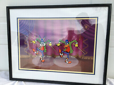 Friz Freleng Limited Edition Hand Painted Cel The Entertaners 678/1200