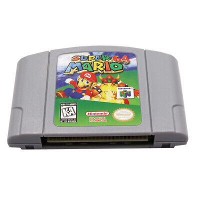 Super Mario 64 Video Game Cartridge Console Card US Version For Nintendo 64 N64