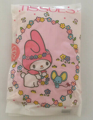 Vintage Sanrio My Melody Tissue Pack 1976  Japan Collectible New in Package