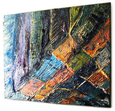 Abstract A Modern Original Oil█Painting█Vintage█Expressionist█Art Portrait Pop A