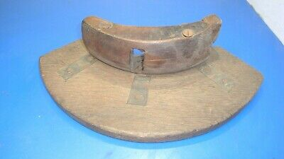 Antique Vintage Coopers Large Woodworking Barrel Makers Plane Tool,No Blade,USED